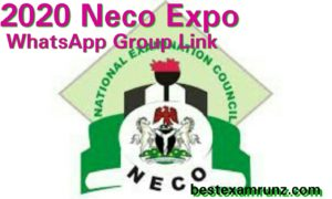 2020 Neco Expo WhatsApp Group Link | Free Neco Run