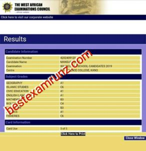 Best Waec Expo Portal 2020 | Waec Runs Website