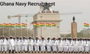 APPLY_ Ghana Navy Recruitment 2020-2021 | Application Form Is Out