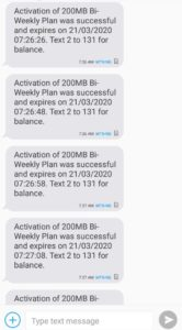 MTN Data Cheat 2020 ~ Latest MTN Free Data Cheat Code