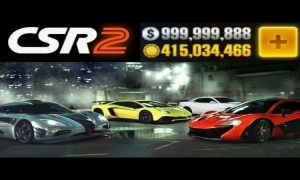 CSR racing 2 mod apk + OBB V2.12.1 for android, PC & iOS ( free shopping, unlimited gold & unlock )