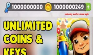 Download Subway Surfers Mod APK Hack ( Unlimited Coins / Keys ) For Andriod – Latest Version