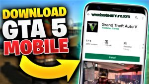 GTA 5 Mobile APK Free Download ( GTA 5 Apk Mod + OBB For Andriod )