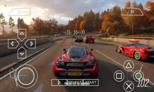 Download Forza Horizon 2&4 PPSSPP ISO File Highly Compressed ( For Android And PC )