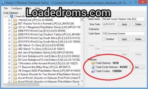 Download New PPSSPP Cwcheat Database 2021 ( PPSSPP Cheat.db For android & PC )
