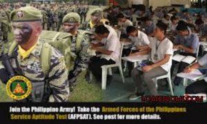 AFPSAT Exam schedule 2021 - Requirements & Date