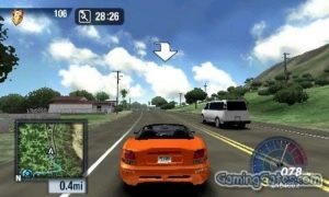 Download Test Drive Unlimited PPSSPP ISO PSP For Andriod & PC ( Highly Compressed )